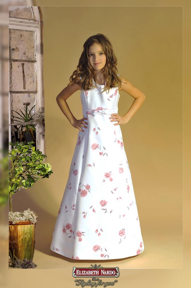 Kislány koszorús ruhák - 14-605 koszorús kislány ruha vállas ec6071358f