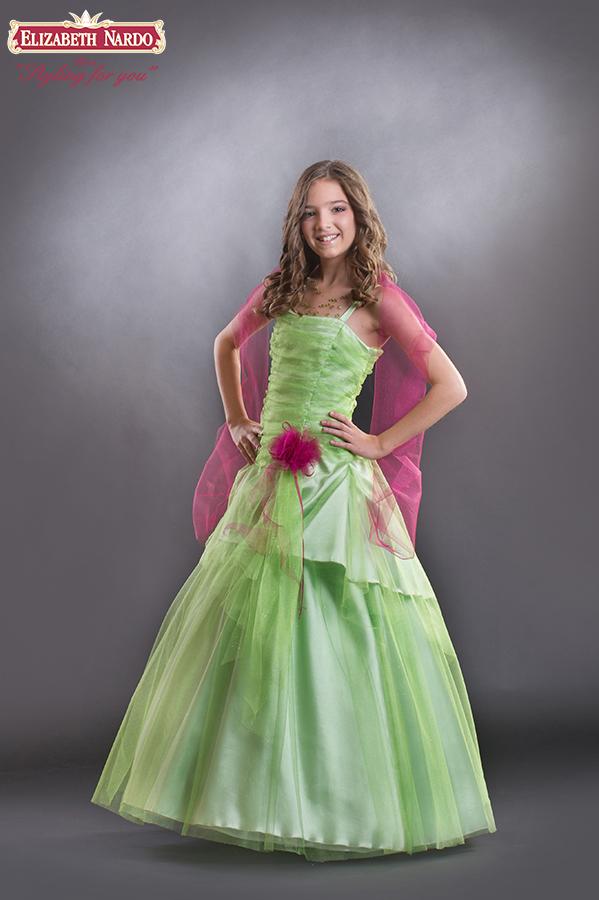 c3ebbd123e Kislány koszorús ruhák - 15-606 koszorús kislány ruha,kiwizöld ...