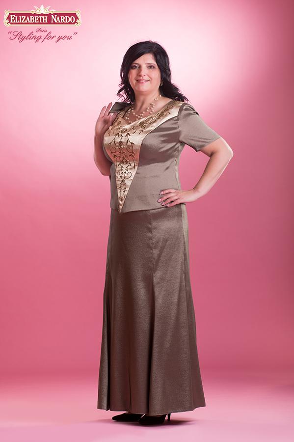 54d43be8c5 Örömanya ruha, Renee - 15-407 örömanya ruha:himzett kétrészes ...