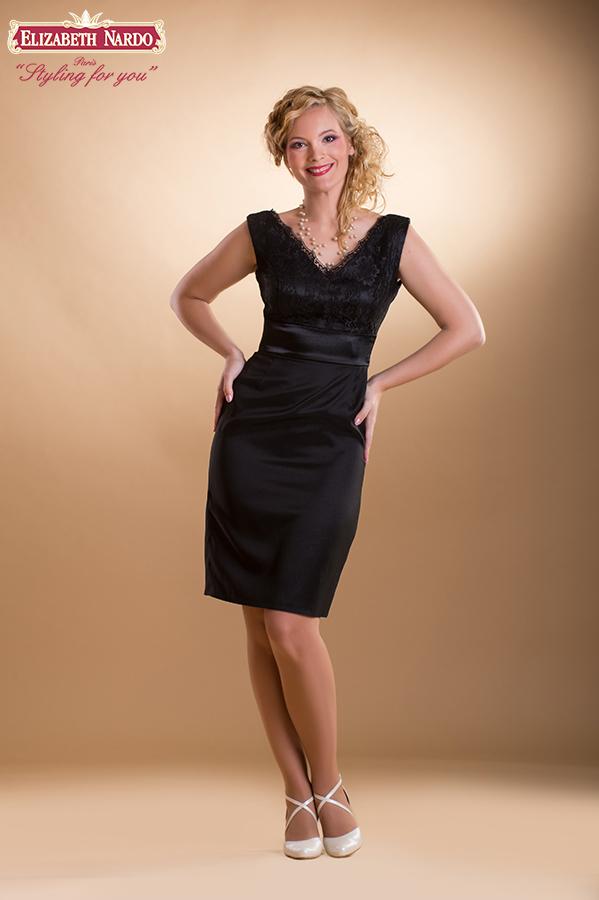 fb796a3be8 Koktélruhák - 15-240 koktél-örömanya ruha:fekete szatén ...