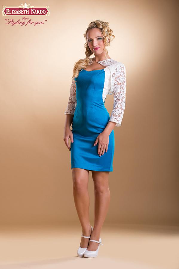 369d0be561 Koktélruhák - 15-241 koktél-örömanya ruha:szatén-csipke kombináció ...