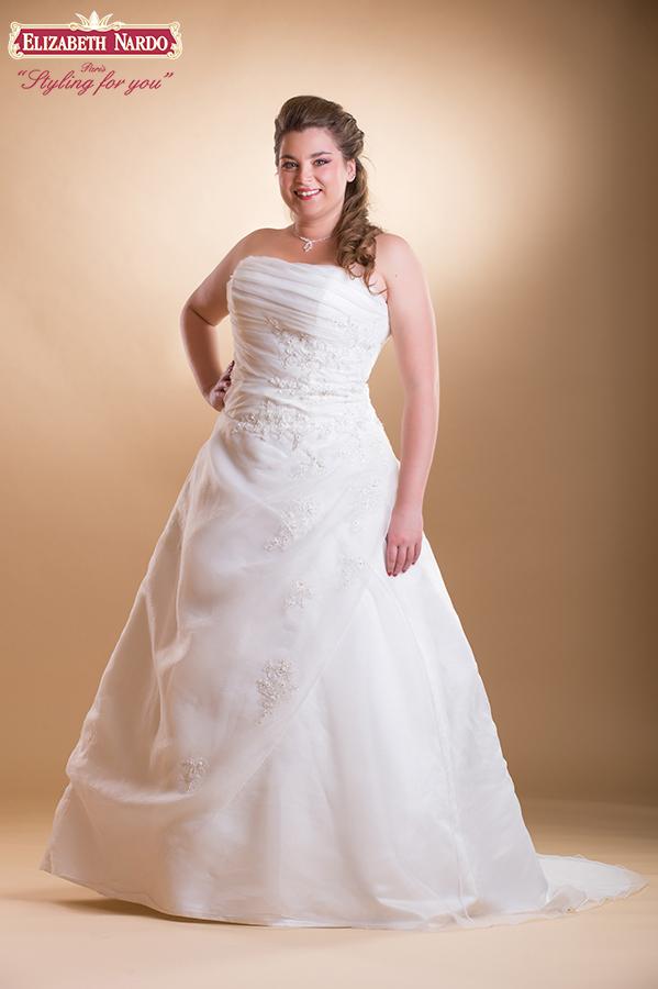 490f117ddb Menyasszonyi ruha és menyecske ruha Plus Size - JFY 115-48 ...