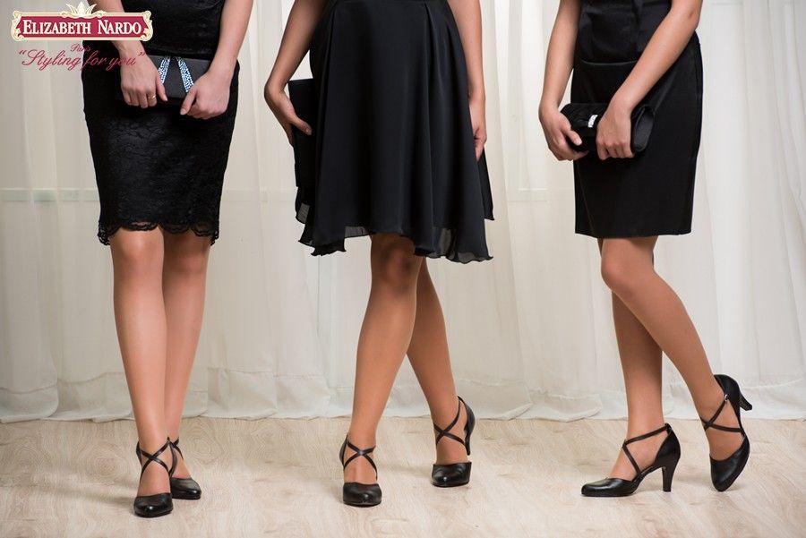 31202816b3 CIPŐK - 17-909 Morandi fekete női cipő keresztpántos, 8 cm-es ...