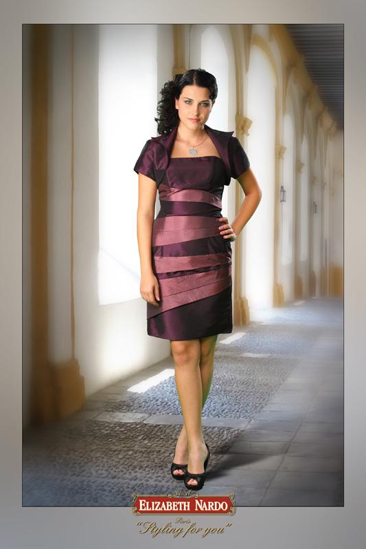 843db82766 Örömanya ruha, Renee - 13-104 lila taft koktél - Menyasszonyi ruhák ...