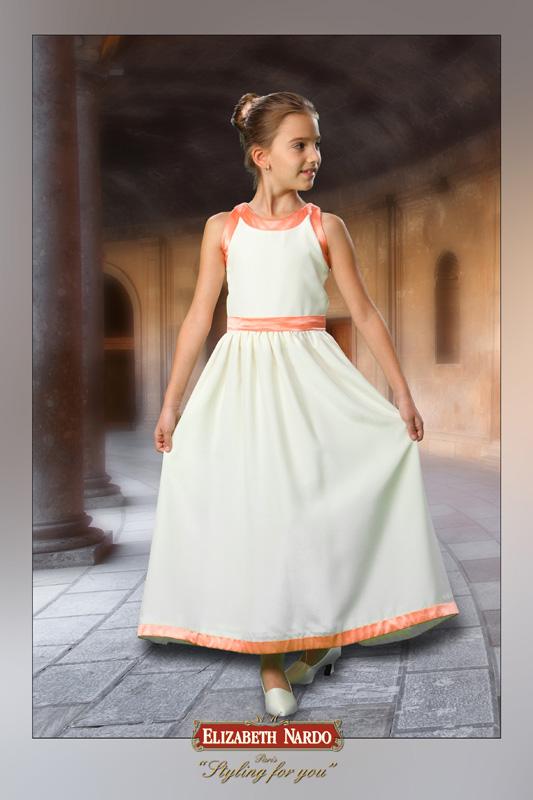 Kislány koszorús ruhák - Britney 0101 - Menyasszonyi ruhák 0c0227c31d