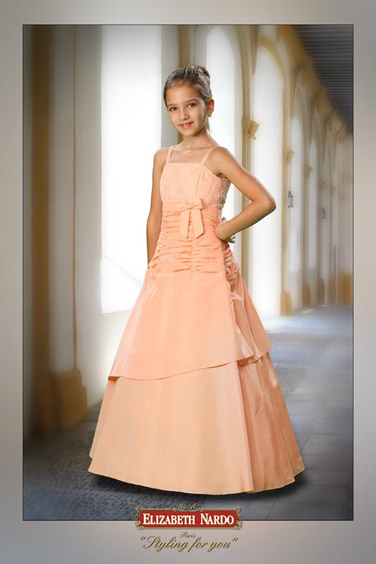Kislány koszorús ruhák - 14-603 pink taft abroncsos szoknyájú ... f665a392d7