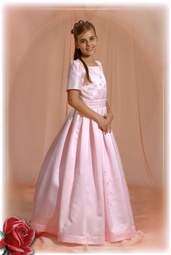 2634ab9909 Kislány koszorús ruhák - 14-608 koszorús kislány ruha:tört színű ...