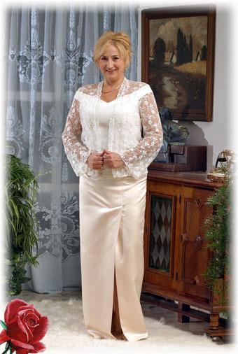 93a0da4136 Örömanya ruha, Victorine - Victorine -19 - Menyasszonyi ruhák ...