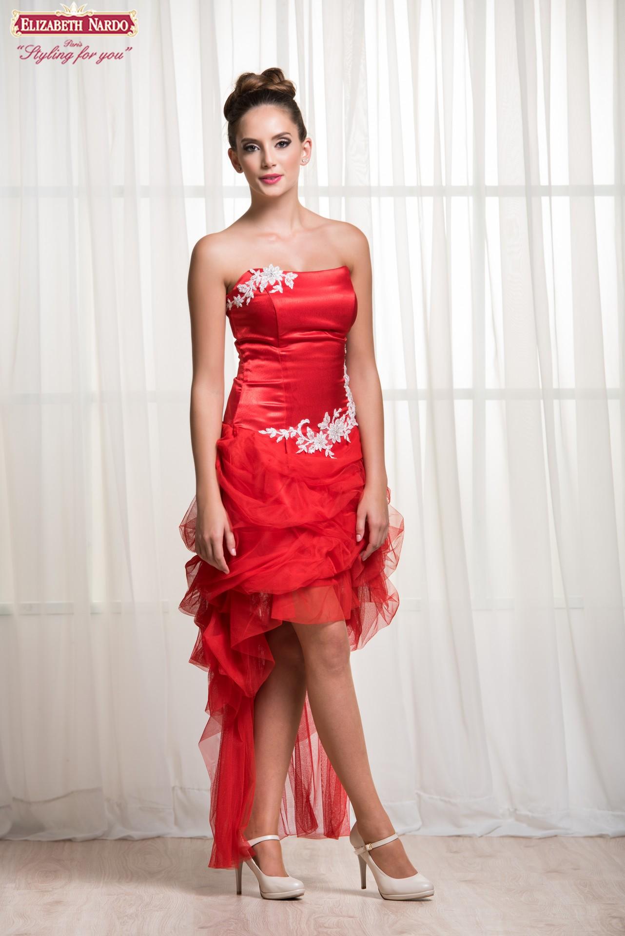 ae8e106b84 Menyecske ruhák - Menyecske ruha 18-110 hátsó nézet - Menyasszonyi ...